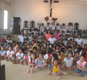 The kids of Galilee, Philippines.